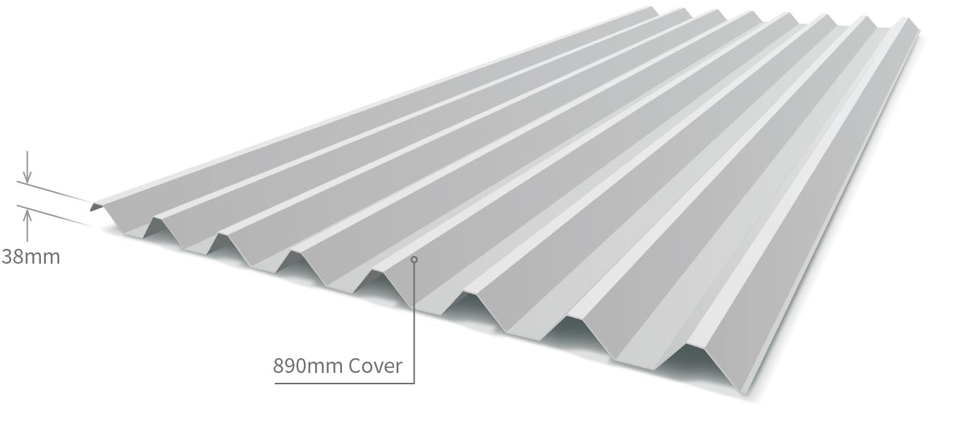 Cladding Roofing Sheeting Walling Stratco900 Profile