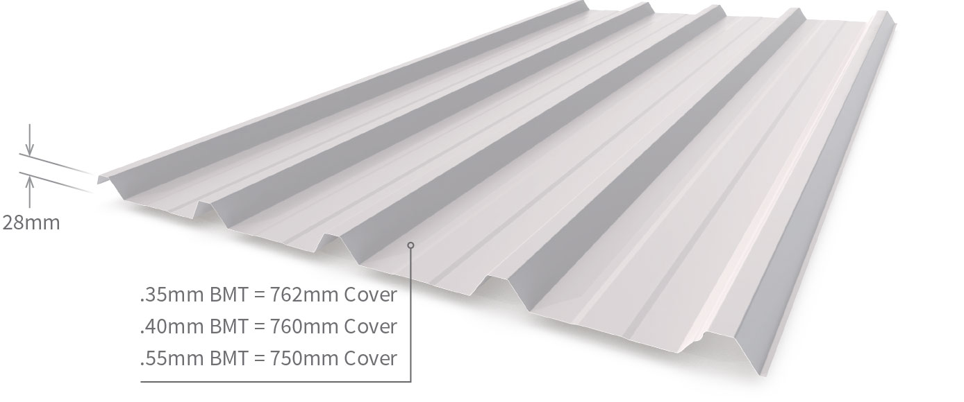 Superdek® Roofing Walling | Stratco NZ
