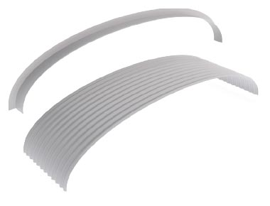 Flashings Roof Flashing Curved Apron Arch