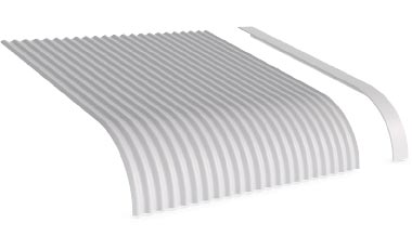 Flashings Roof Flashing Curved Convex Barge Right Hand