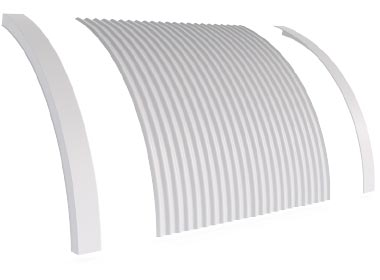 Flashings Roof Flashing Curved Convex Barge Arch