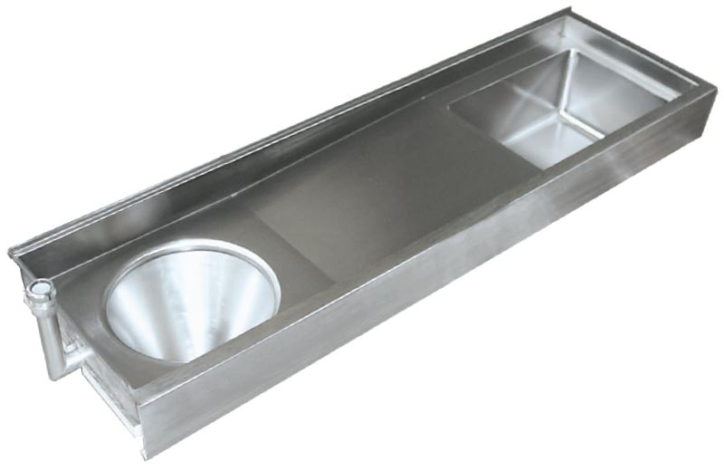 Stainless Steel Sink Sluice